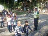 Безбедност дјеце у саобраћају