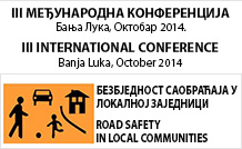 """III Међународнa научно-стручна конференција  """"Безбједност саобраћаја у локалној заједници"""""""