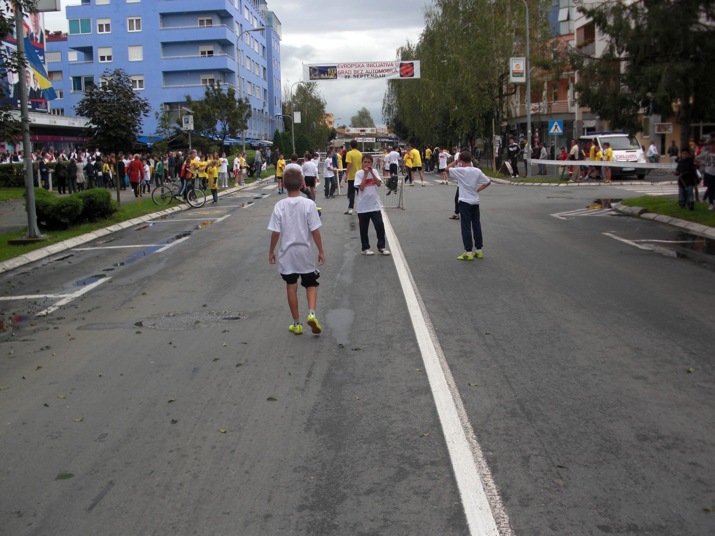 """Градишка обиљежила """"Међународни дан без аутомобила"""""""