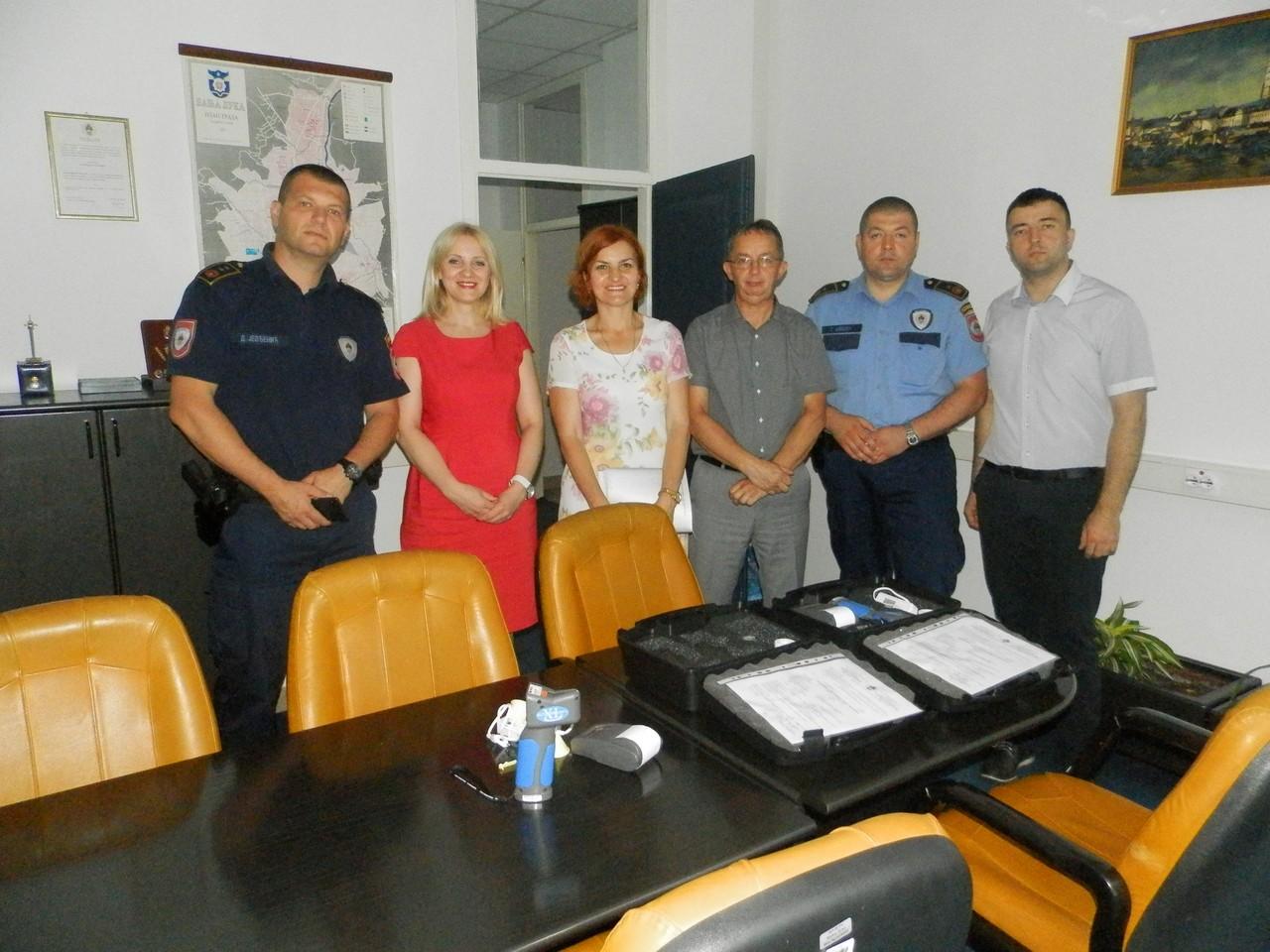 У Управи полиције извршена примопредаја два етилометра