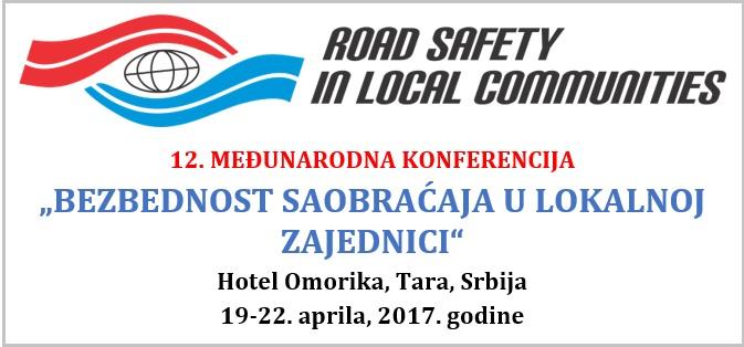 12. Међународна конференција-Безбедност саобраћаја у локалној заједници