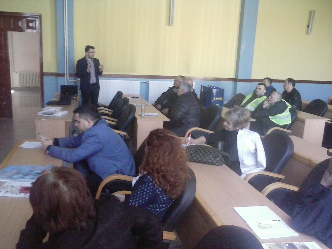 Представници Агенције за безбједност саобраћаја присуствовали савјетовању пољопривредника Челинца