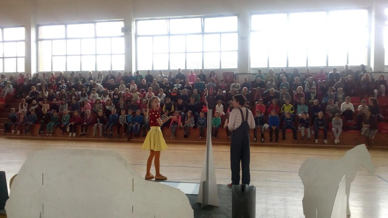 """Представа """"Мирка"""" у новој школској години нови циклус извођења започела у Граду Источном Сарајеву"""