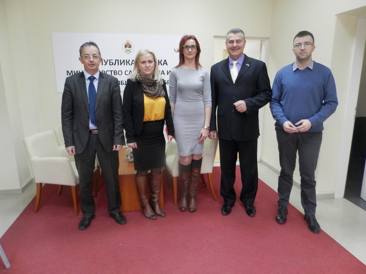 У Агенцији одржан састанак са представницима Мото клуба Безбједност Бања Лука и Мото клуба Безбедност Србија