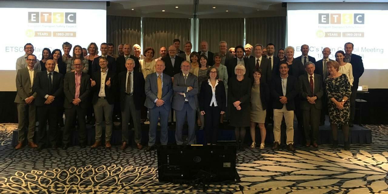 Агенција за безбједност саобраћаја је по други пут учествовала на сједници Главног вијећа и прослави 25. годишњице од оснивања Европског савјета за безбједност саобраћаја