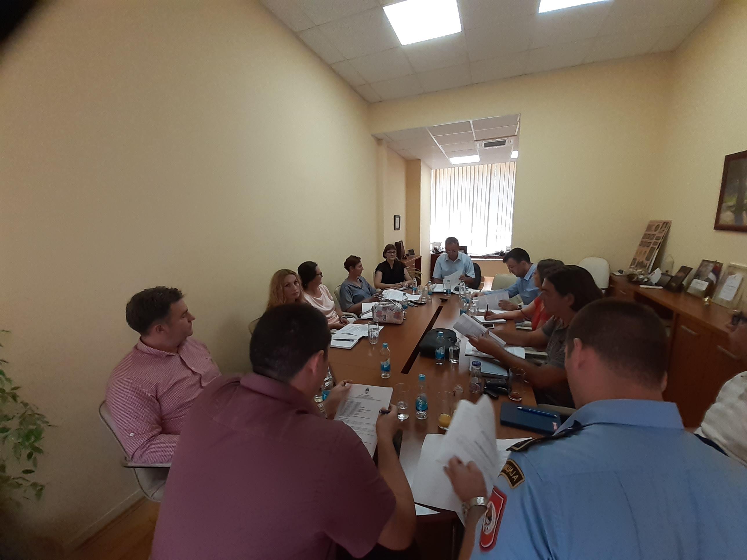 Одржан радни састанак радне групе за координацију активности