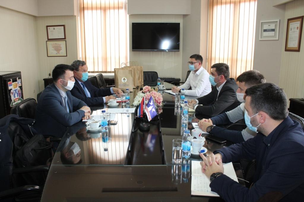 Састанак у Градској управи Бијељина