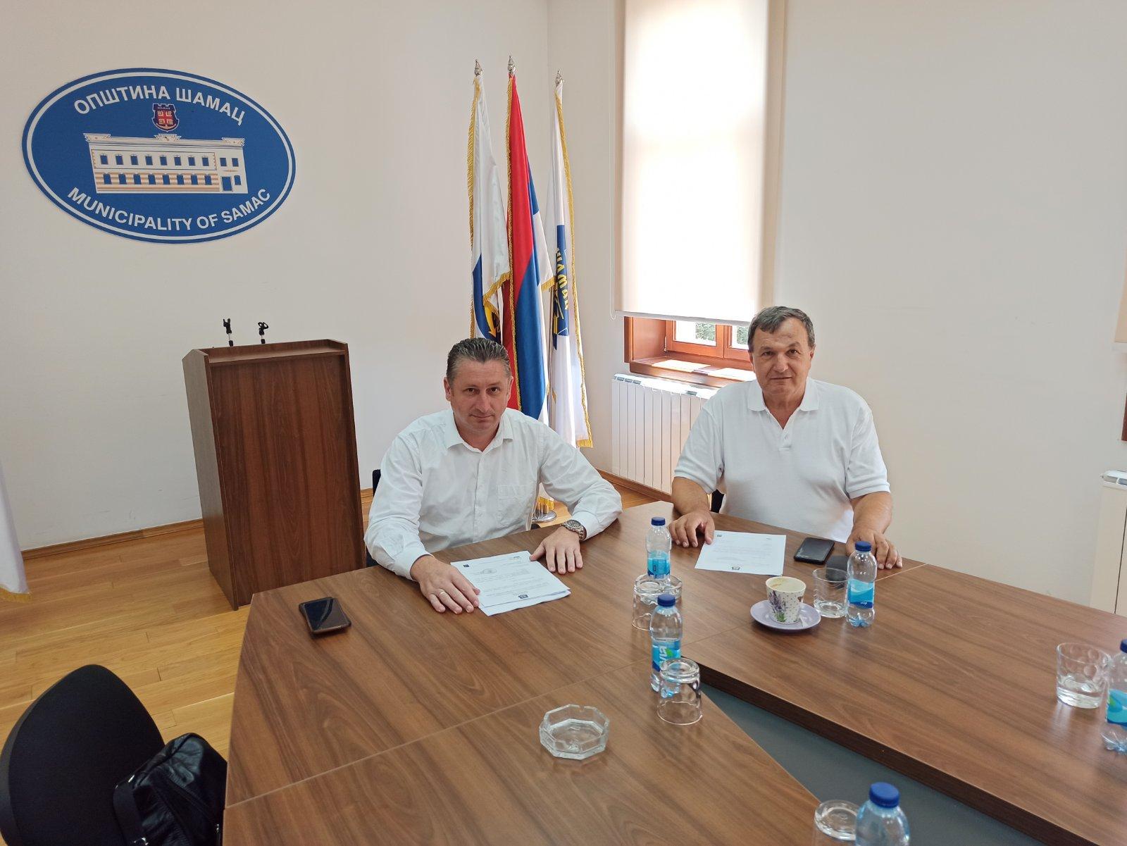 Директор Агенције а безбједност саобраћаја Новица Крунић присуствовао састанку у Шамцу
